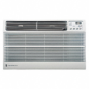 115 Wall Air Conditioner, 8000 BtuH Cooling, White, Includes: Remote Control with Batteries