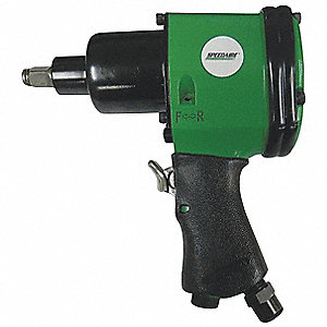 Air Impact Wrench,Light,,7-1/2 in. L
