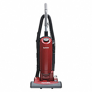 "Bagged Upright Vacuum with 15"" Cleaning Path, 135 cfm, HEPA Filter Type, 10 Amps"