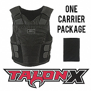 Multi-Threat Vest Package, NIJ 0101.06 Level 2 Ballistics and NIJ 0115.00 Spike 2, Small Short
