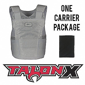 Multi-Threat Vest Pkg,XLS,White,3.40 lb.