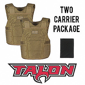 Spike Vest Package,XL,Tan,0.31 psf