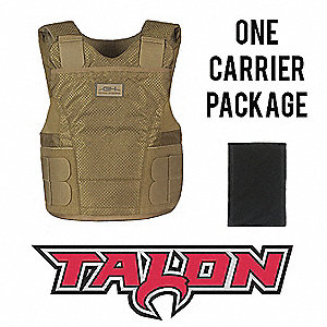 Spike Vest Package,M,Tan,1.10 lb.