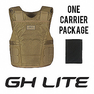 Armor Carrier, NIJ 0101.05 Level 2 Ballistics, 2X-Large Long