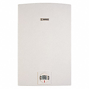 "17-29/32"" x 11-1/4"" x 30-1/2 Gas Tankless Water Heater, 175,000 BtuH, Liquid Propane"