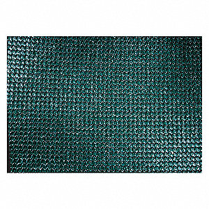 Shade Cloth,24 ft. L,12 ft. H,Green