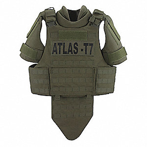 Tactical Vest,M/L Regular,Rgr. Green