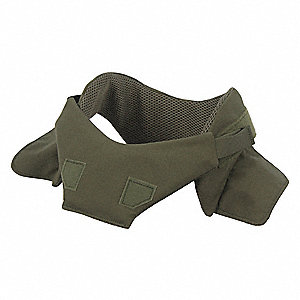 Collar Protector,0.270in Thick,Rng Green