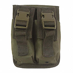 Double MOLLE Pouch,For Flashbang,Coyote