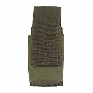 MOLLE Pouch,Hook-and-Loop,Blk