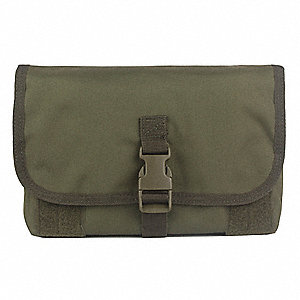 MOLLE Pouch,For Gas Masks,Ranger Green