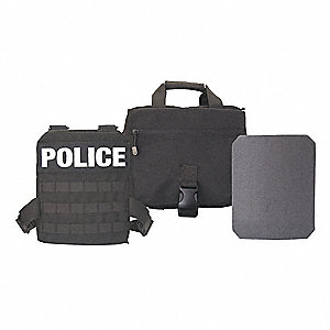 Active Shooter Kit, NIJ 0101.05 Level 4 Ballistics, 10x12""