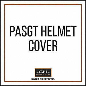 Helmet Cover,Black,For PASGT Helmets
