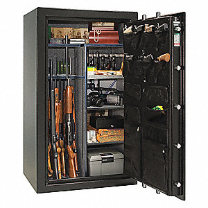 20.9 cu. ft. Gun Safe, 785 lb. Net Weight, 1-1/4 hr. Fire Rating, Electronic Lock Style