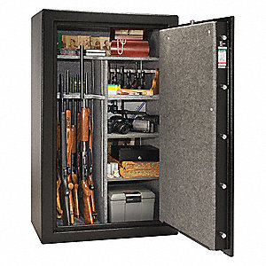 15 7 cu  ft  Gun Safe, 675 lb  Net Weight, 1 hr  Fire Rating,  Combination/Key Lock Style