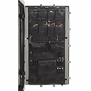"Door Panel Organizer for 30"" to 40"" W Gun Safes"
