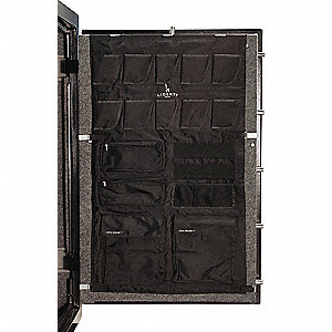 "Door Panel Organizer for 48"" or 64"" W Gun Safes"