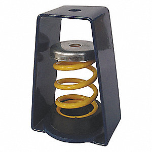 Hanger Vibration Isolator,55 to 76 lb.