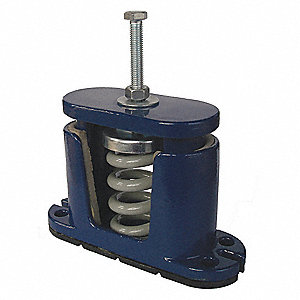 Floor Vibration Isolator,35 to 75 lb.