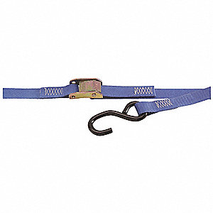 Tie Down Strap,Cam Buckle,Poly,10 ft.