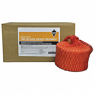 (4) 2 lb. Blocks Solid FOG Digester for Time Release Grease Treatment