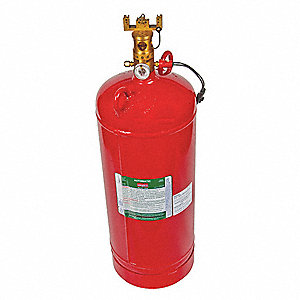 Fire Extinguisher,Steel,1500 cu. ft.