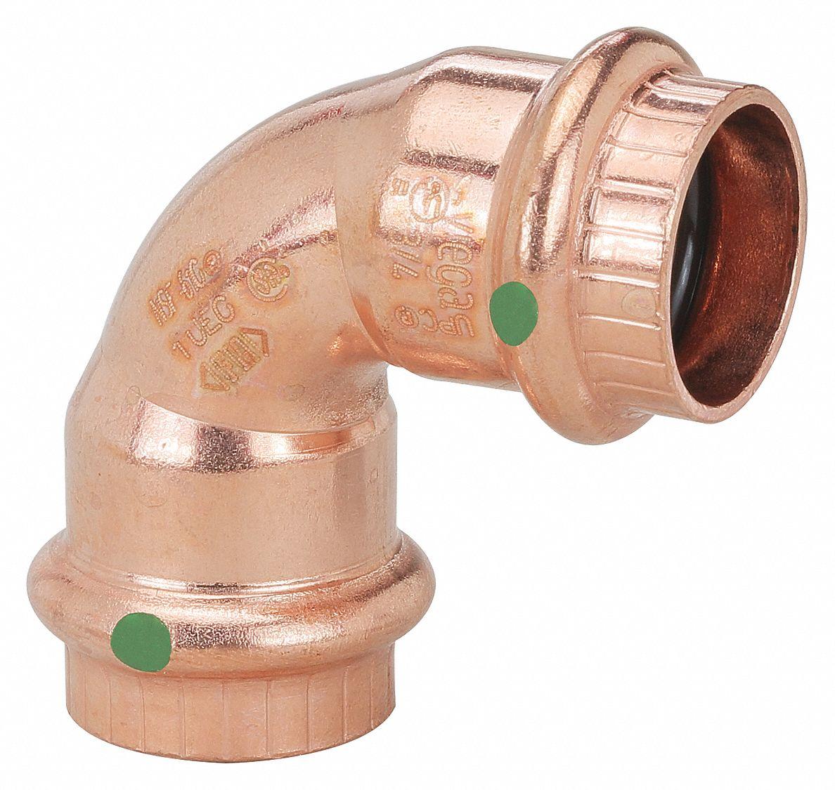 Viega Propress Copper 90 Degree Elbow Press X Press Connection
