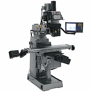 Variable Speed Milling Machine,3 HP,CNC
