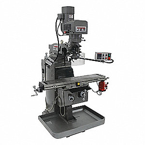 Variable Speed Milling Machine,3 HP,EVS