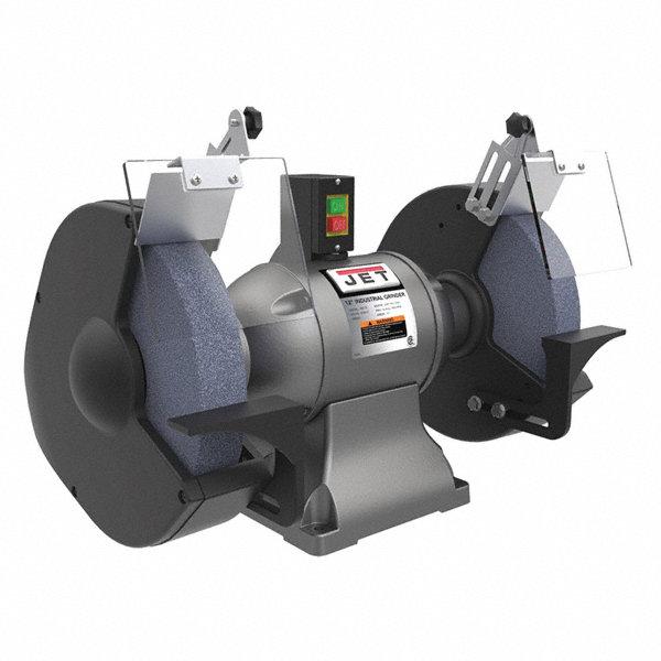 Jet 12 Quot Bench Grinder 230v 2 Hp 3450 Max Rpm 1 1 4