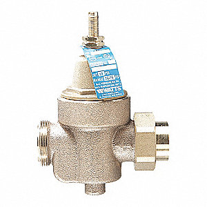 "Water Pressure Reducing Valve, Standard Valve Type, Lead Free Copper Silicon Alloy, 1"" Pipe Size"