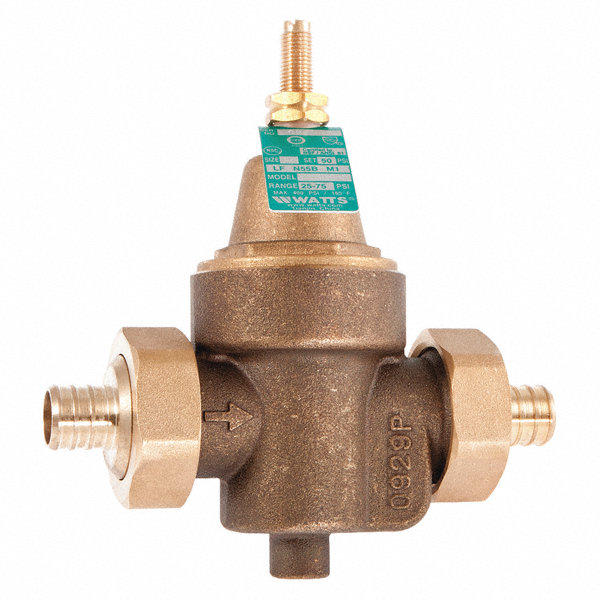 watts regulator water pressure reducing valve standard. Black Bedroom Furniture Sets. Home Design Ideas