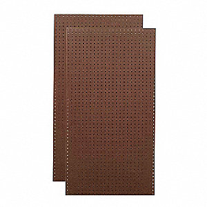 Tempered Wood Pegboard Hardwood Pegboard Panel With 50 Lb