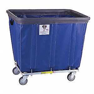 "Basket Truck, 12.0 Bushel Capacity, 27-1/4"" Overall Width, 37-1/4"" Overall Length"