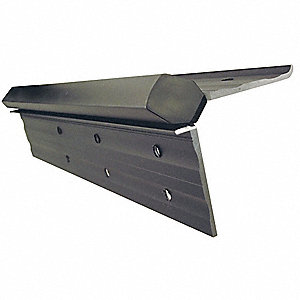 "180° Continuous Hinge With Holes, Dark Bronze, Door Leaf: 83"" x 1-7/8"" W"