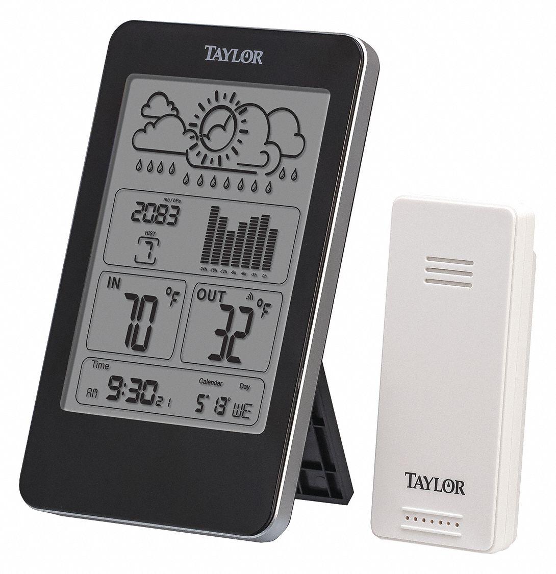 2752N TAYLOR Wireless Multizone Thermometer,32-122F