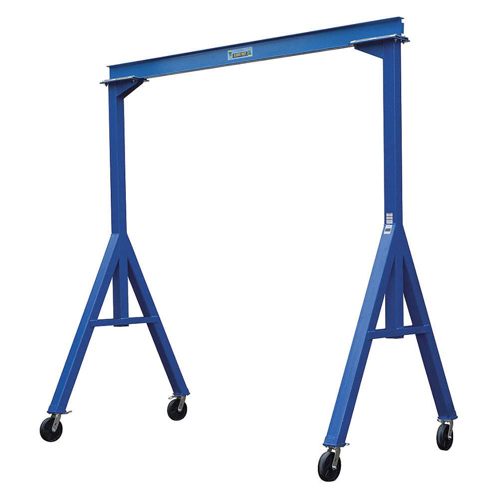 Fixed Gantry Crane, 4000 lb  Load Capacity, 4 00