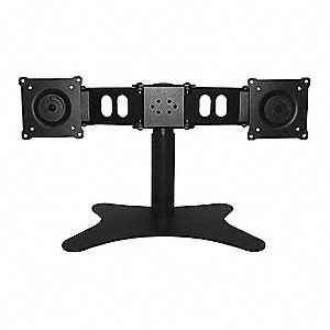 Adjustable Dual Monitor Stand For Use With 48TC74, TME19W, M19LED, UML-192-90, M19VLED, M215LED, P19