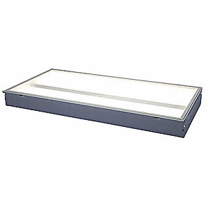 LED Recessed Troffer,4000K,47-29/32in.L