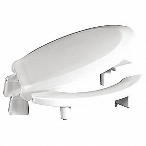 Centoco Toilet Seat Round With Cover 16 1 2 Quot Bolt To