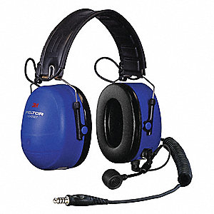 Over-the-Head Headset, 25dB, Radio Band Type: AM/FM