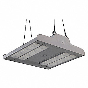 "13-3/4"" x 10-7/8"" x 3-15/32"" Linear High Bay with 17,600 Lumens and Wide Light Distribution"