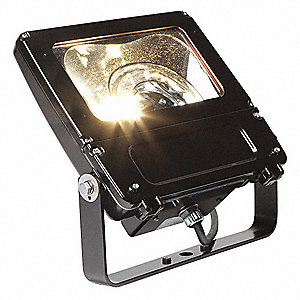 9620 Lumens LED Floodlight, Dark Bronze, LED Replacement For 175W HPS/MH