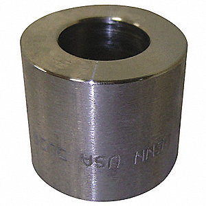 "316 Stainless Steel Adapter, MSW x FNPT, 1/2"" x 3/8"" Pipe Size - Pipe Fitting"