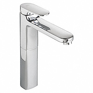 Bathroom Faucet,Polished Chrome,1 Hole