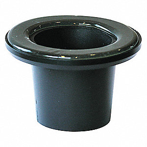 Wax Free Urinal Seal,2 in. Size,Blk,PVC