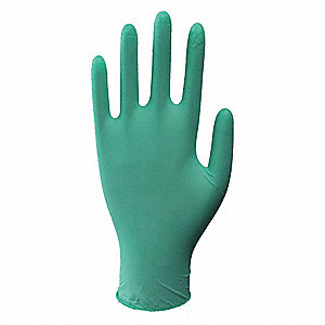 Gloves,Green,XL,Industrial,PK90