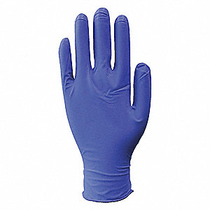 Gloves,Corn Blue,L,Exam,PK100