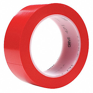 "1-1/2"" x 37 yd. Duct Tape, Red"