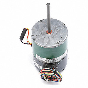 1/2 HP Condenser Fan Motor,ECM,1100/850 Nameplate RPM,460 Voltage,Frame 48